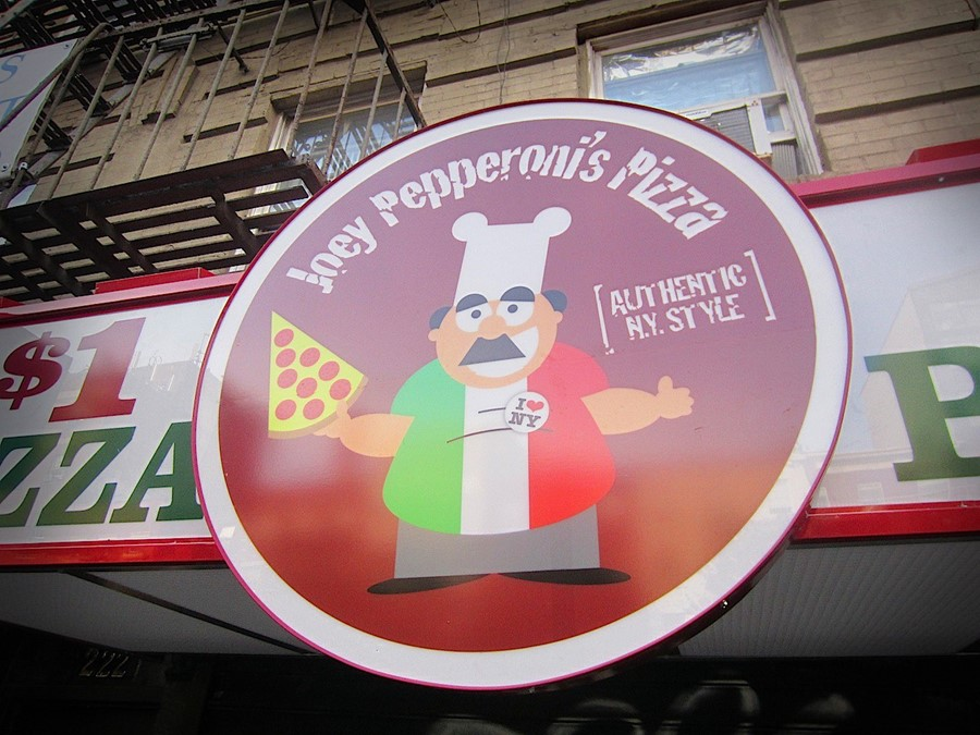 JOEY PEPPERONIS PIZZA LOGO